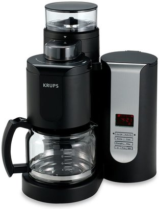 Krups Duo Filter 10-Cup Pro Grinder-Brewer Coffee Maker