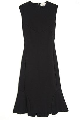 Stella McCartney Sleeveless Fitted Ruffle Dress