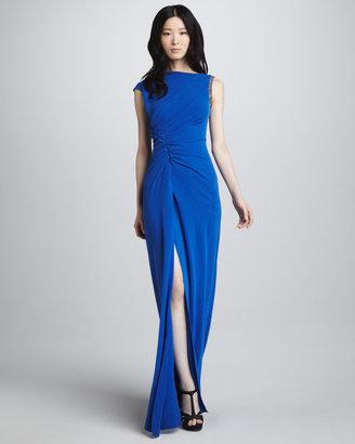 Halston Ruch-Side Gown