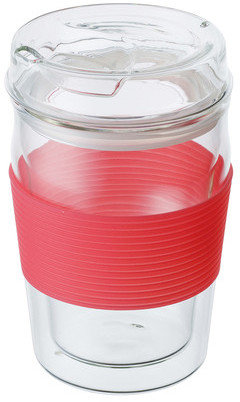 Kinto ReCUP Glass Tall Pink