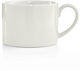 Martha Stewart Collection Harlow Talc White Low Can Mug