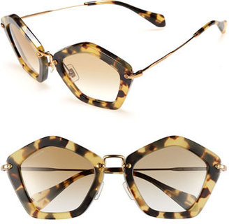 Miu Miu Geometric Sunglasses