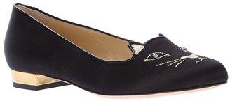 Charlotte Olympia 'Kitty ' slipper