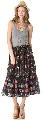 Carolina K. Tiered Dress / Skirt