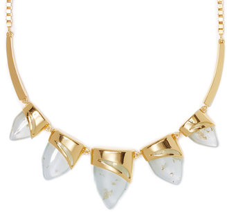 Vince Camuto Gold Horn Necklace