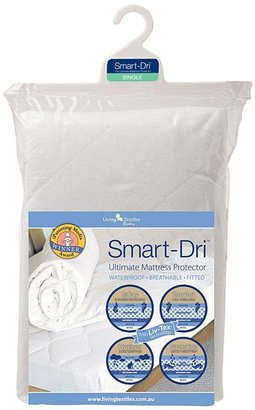 Living Textiles Smart Dri Single Bed Waterproof Mattress Protector
