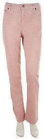 Liz Claiborne New York Regular Jackie Straight Leg Denim Jeans $13.84 thestylecure.com