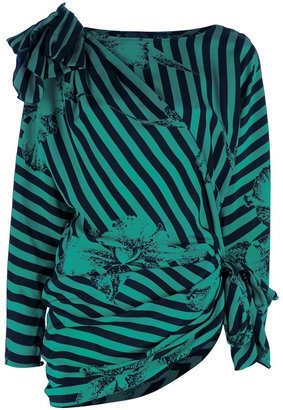 Ungaro Vintage striped blouse
