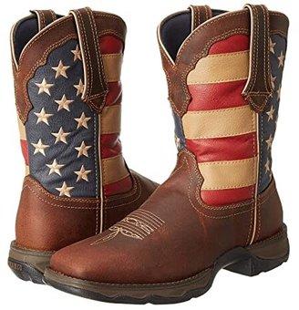 Durango RD4414 - Flag (Dark Brown) Women's Pull-on Boots