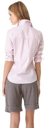 Band Of Outsiders Easy Button Down Shirt
