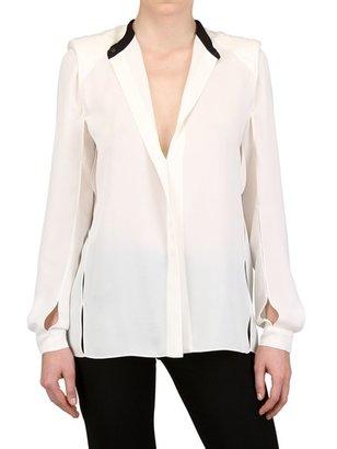 Lanvin Silk Crepe De Chine Shirt