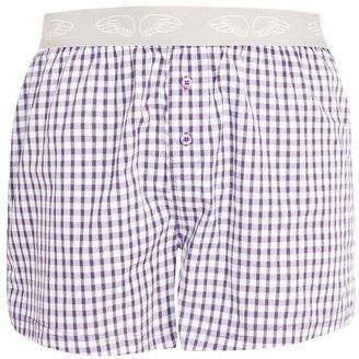 Pants To Poverty Vintage Check Woven Boxer