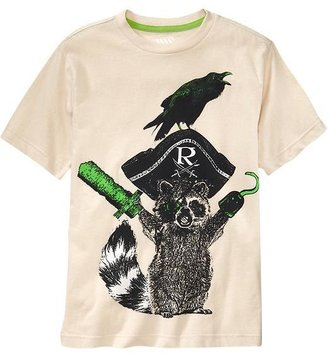Old Navy Boys Animal-Graphic Tees