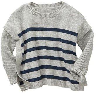Gap Stripe boxy sweater