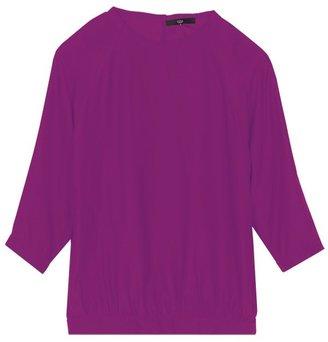 Tibi Silk Easy Sweatshirt
