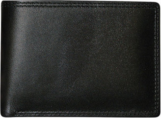 JCPenney Buxton Emblem Double I.D. Leather Wallet
