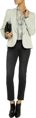 Balmain Pierre Mid-rise skinny jeans