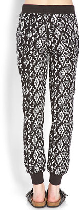 Forever 21 Tribal Patterned Sweatpants