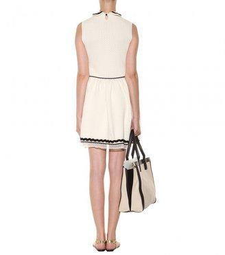 RED Valentino Cotton-blend knit dress