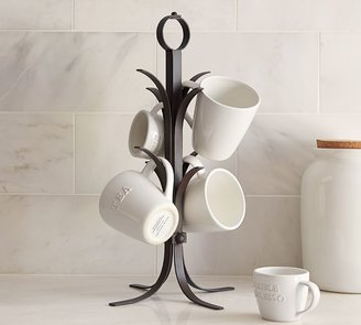 Pottery Barn Vintage Blacksmith Mug Tree