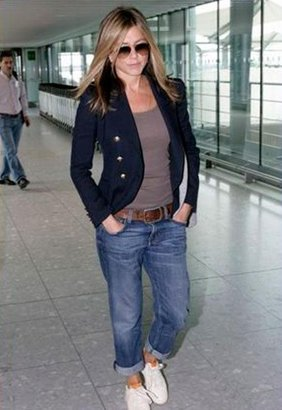 Current/Elliott Current Elliott Current Elliot Boyfriend Jean in Loved as seen on Jennifer Aniston and Jessica Alba