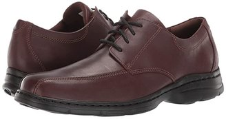 Dunham Bryce Bikefront (Black Smooth) Men's Lace up casual Shoes