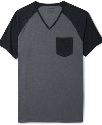 INC International Concepts T-Shirt, Death Has A Shadow V-Necl T-Shirt