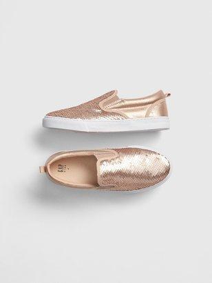 Gap Kids Flippy Sequin Slip-On Sneakers