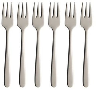 Villeroy & Boch Daily Line Pastry Forks, Set of 6