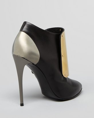 Giuseppe Zanotti Pointed Toe Booties - Dirty High Heel