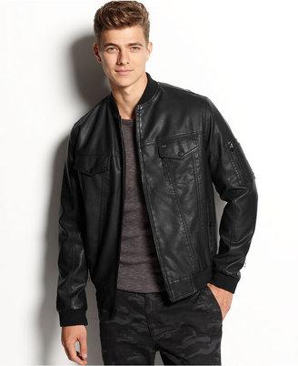 Levi's Faux-Leather Bomber Jacket