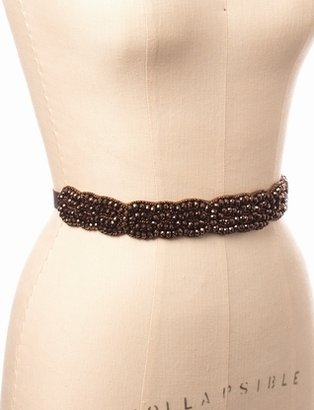 The Limited Beaded Elastic Belt