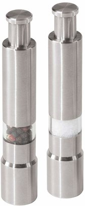 Oggi Stainless Steel Salt & Pepper Mills