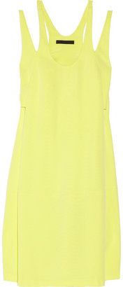 Alexander Wang Racer-back silk-crepe dress