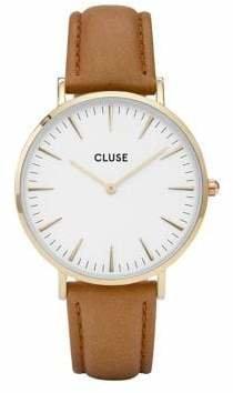 Cluse La Bohème CL18409 Leather Analog Watch