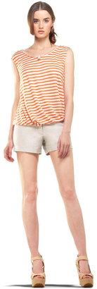 Max Studio Short Sleeve Top