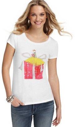 LOFT Present Girl Graphic Tee