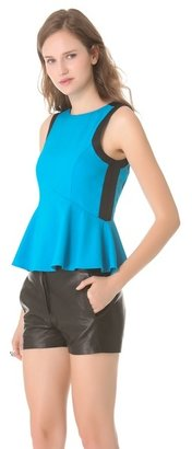 Finders Keepers Finderskeepers Let Love Rule Peplum Top