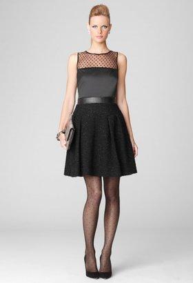 Milly Black Dresses - Sleeveless Katie Combo Dress
