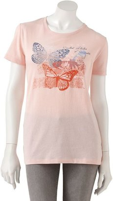 United states of america butterfly tee