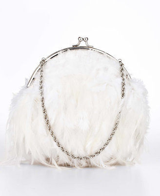 Ann Taylor Feathered Bag
