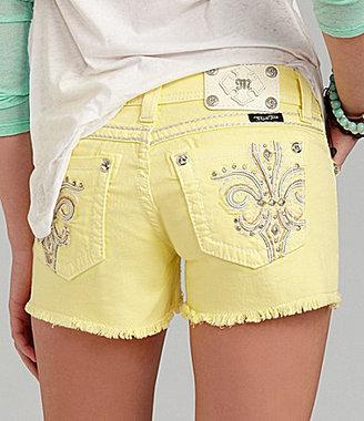 Miss Me Fleur-de-Lis Shorts