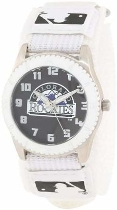 "Game Time Unisex MLB-Row-COL""Rookie White"" Watch - Colorado Rockies"