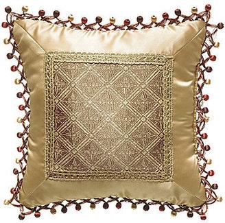 """Croscill Classics Florencia 16"""" Square Decorative Pillow"""