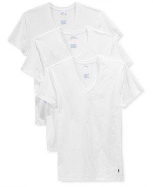 Polo Ralph Lauren Men's 3-Pk. Slim Fit Classic T-Shirts