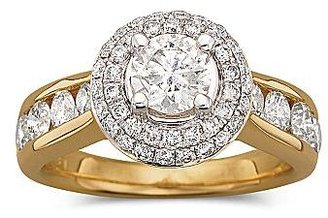JCPenney 2 CT. T.W. Diamond Bridal Ring In 14K Gold