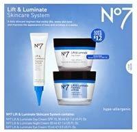 Boots Lift and Luminate Skincare Kit
