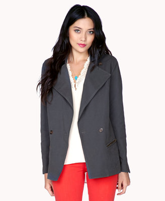 Forever 21 Remixed Double-Breasted Jacket