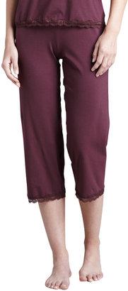 Cosabella Giulette Cropped Lounge Pants, Brandy