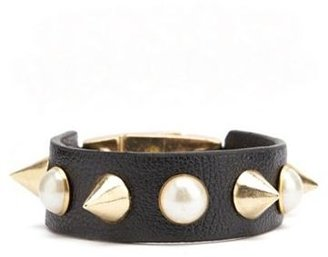 Charlotte Russe Pearl Spike Cuff Bracelet